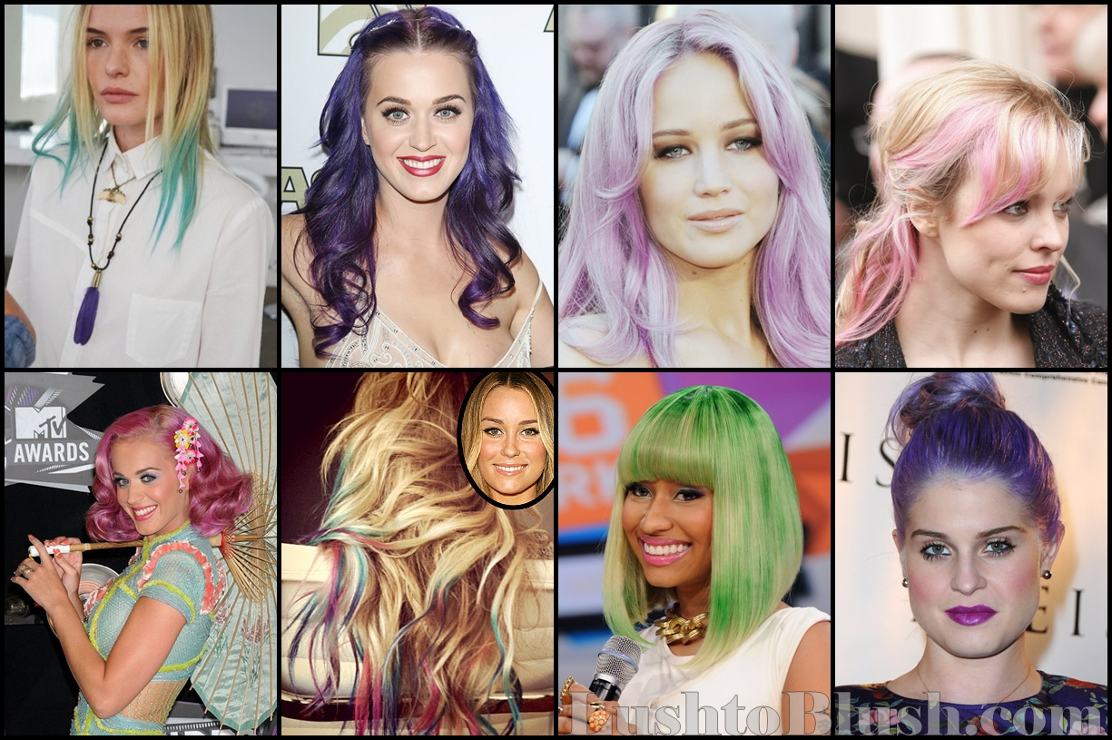 Add Some Color To Your Look With Pastel Hair Lush To Blush