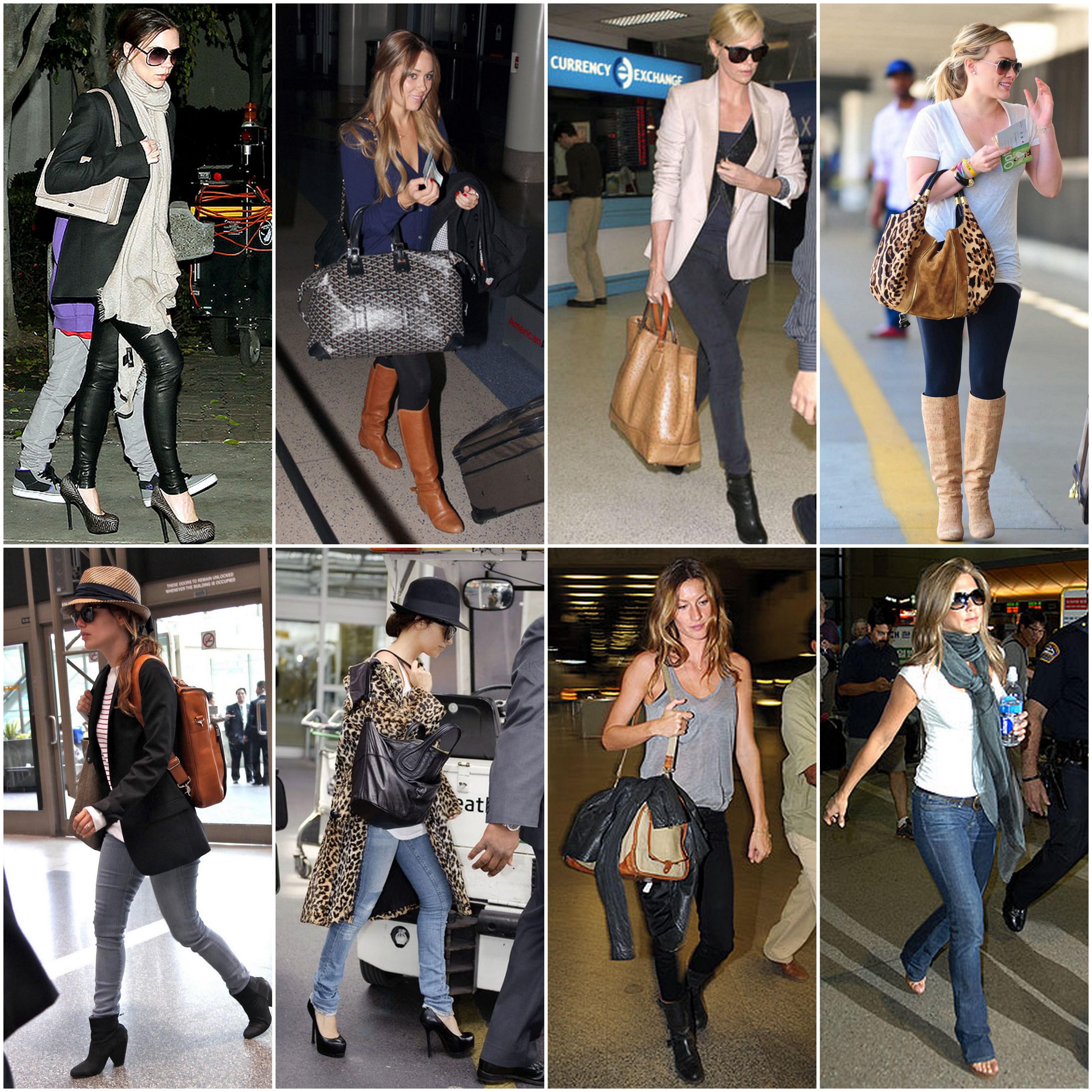 Airport Style Travel In Comfort Lush To Blush